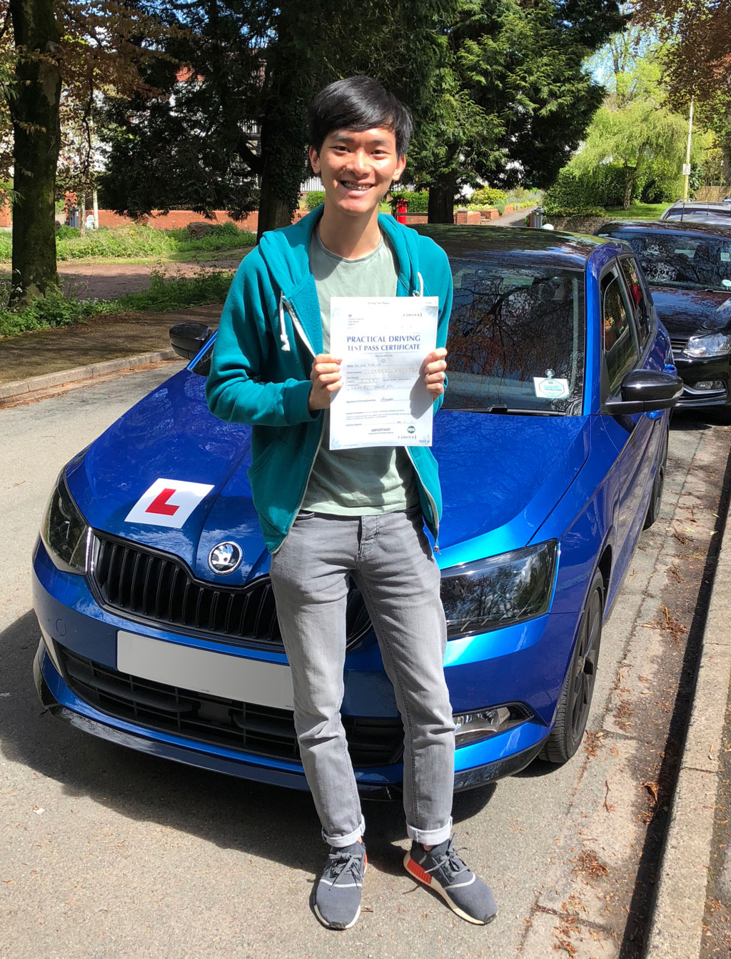 Yen Ming Learner Driver Passed Flawlessly